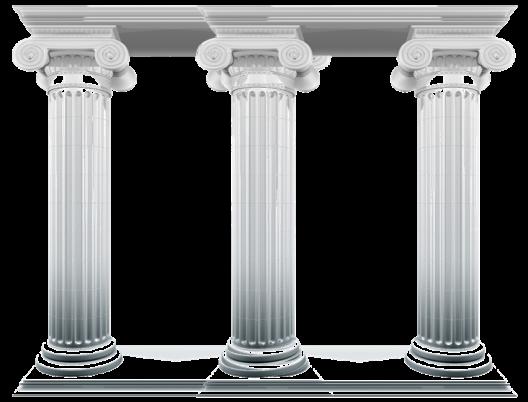 Los tres pilares el goreano for Pilares y columnas