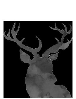 ciervo navideño